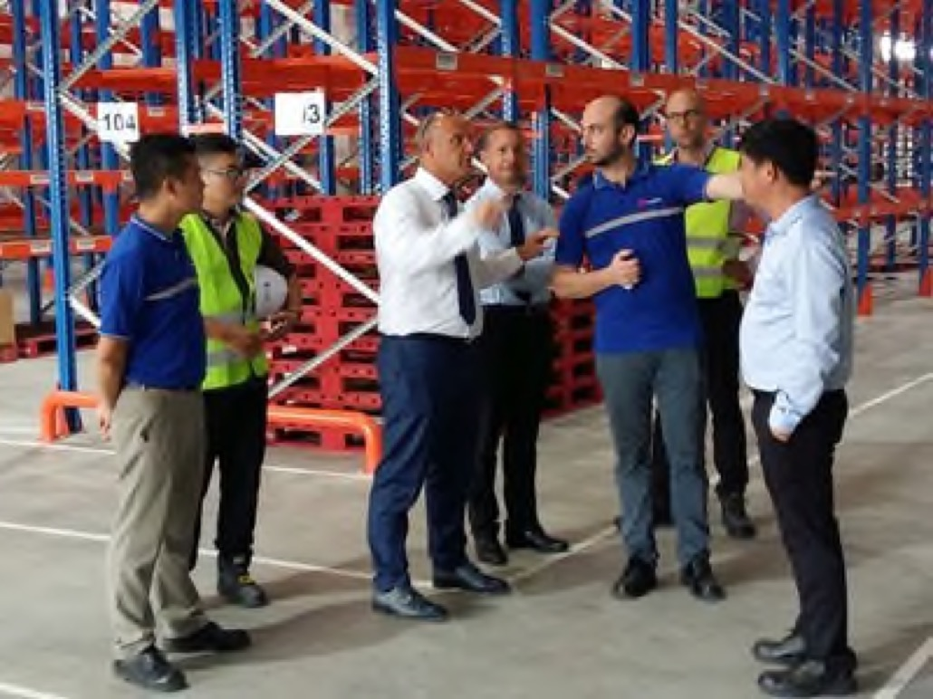 FM Logistics breaks ground on Vietnam logistics centre