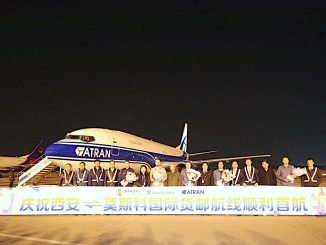 Atran Airlines at Xian Xianyang International Airport
