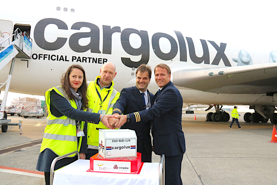 Cargolux doubles Budapest frequencies to six weekly