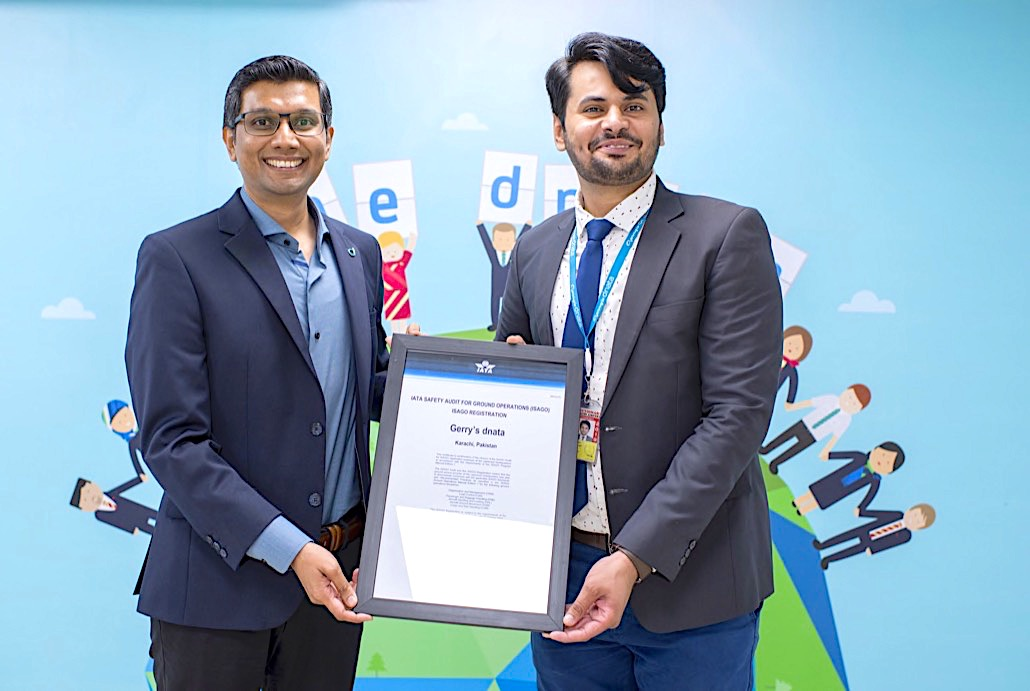 Gerry's dnata achieves ISAGO certification in Pakistan