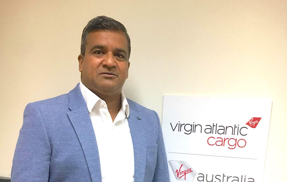 Bosco Dsouza @ Virgin Atlantic Cargo