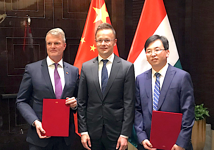 BUD taps Belt and Road with two China MoUs