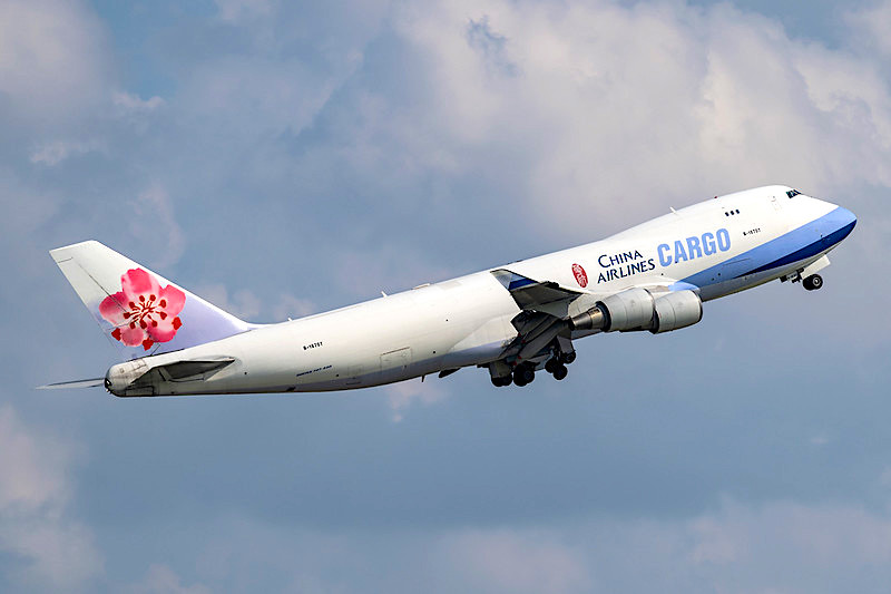 China Airlines orders three B777 Freighters