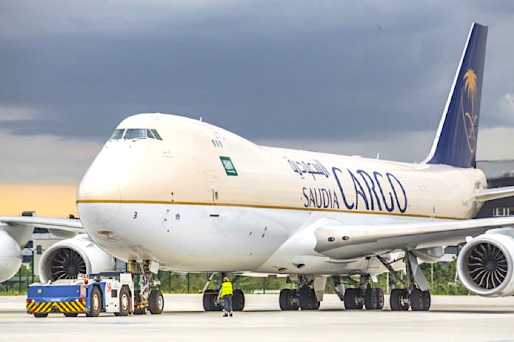 Saudia Cargo resumes maindeck ops to CAN, BOM