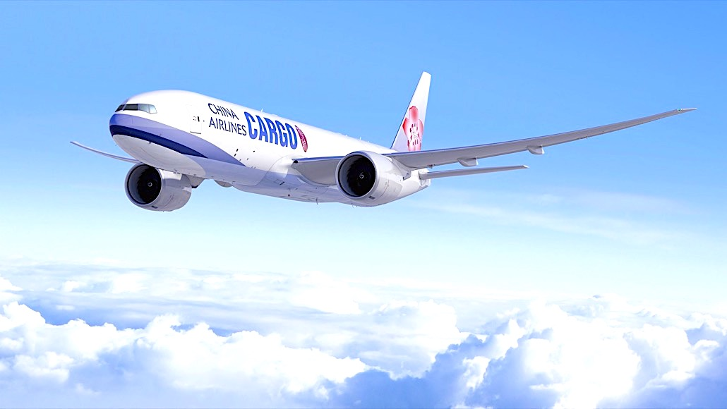 Taiwan's China Airlines orders six B777 Freighters