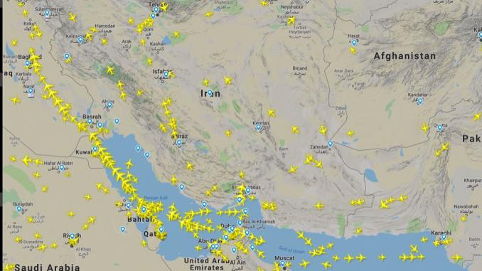 Iran airspace