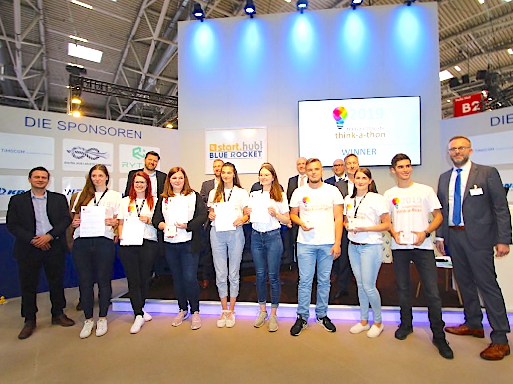 Winners of Transport Logistic 'think-a-thon' announced
