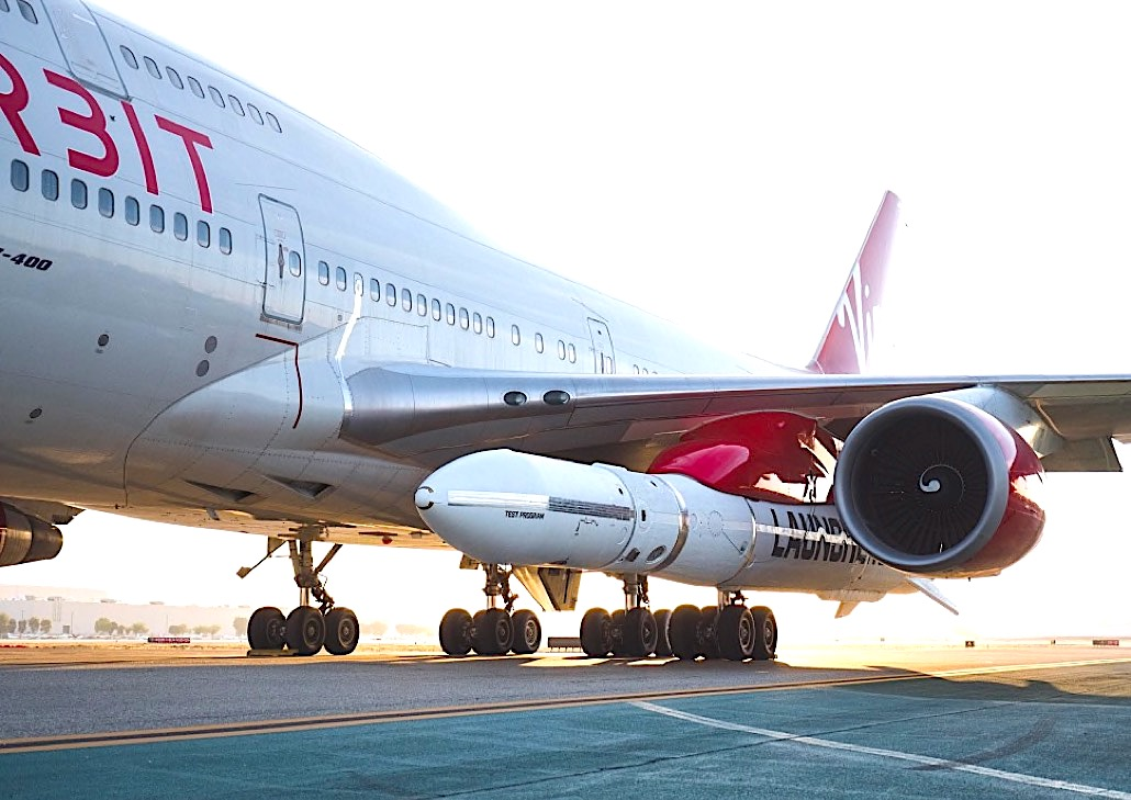 ANA to support Virgin Orbit satellite launches