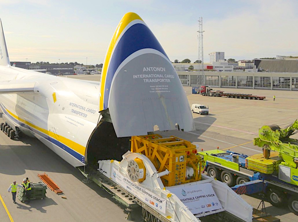 Antonov continues Oil Spill Response support