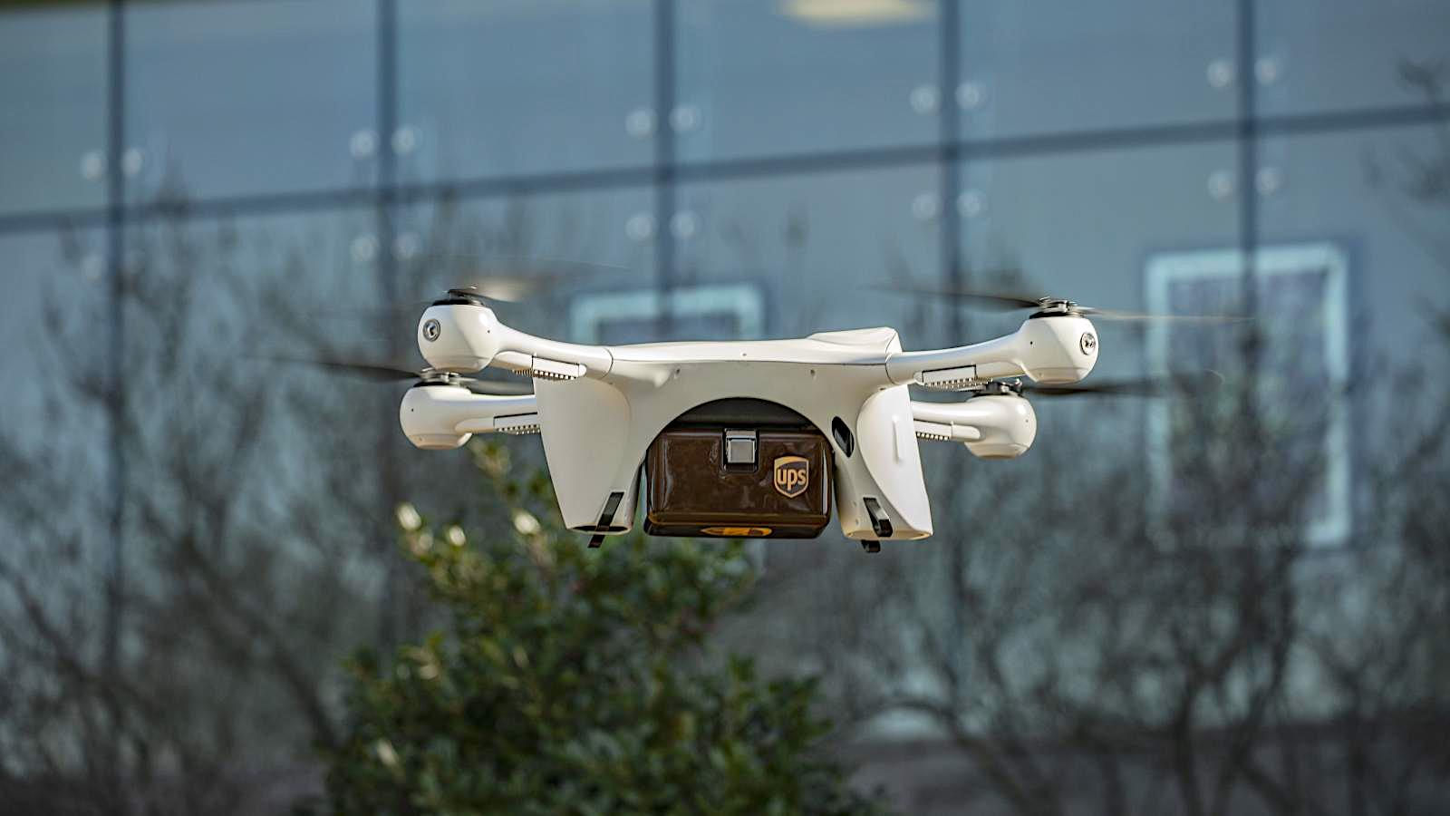 UPS teams up with drone companies on Covid-19 fight