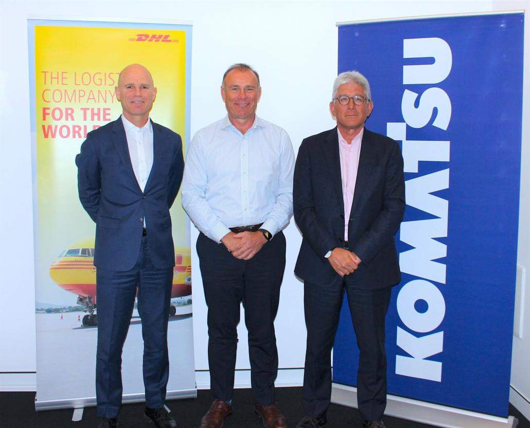 Komatsu signs multi-year deal with DHL in Australia, NZ