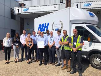 B&H Worldwide Achieves UKAS BSI