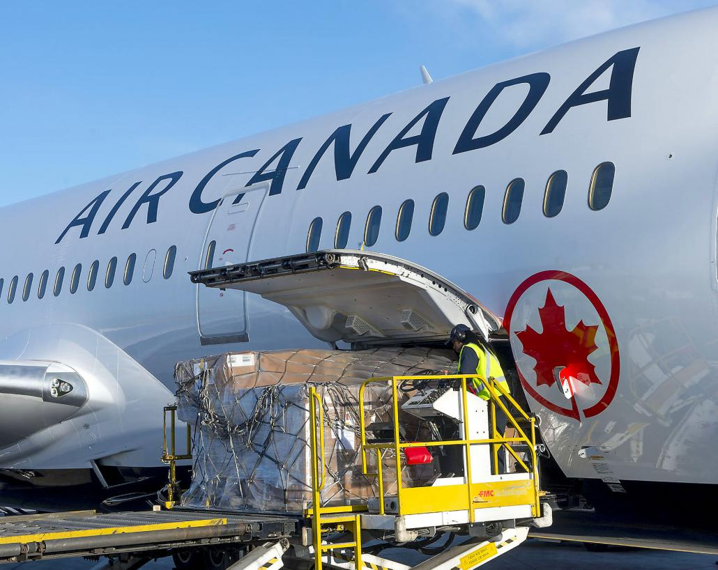 Air Canada expands cool chain handling at Toronto Pearson