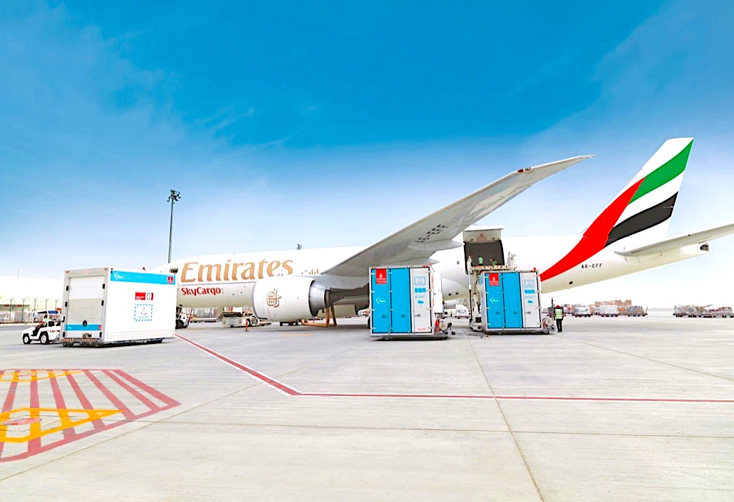 Emirates enjoys successful summer of perishables, pharma