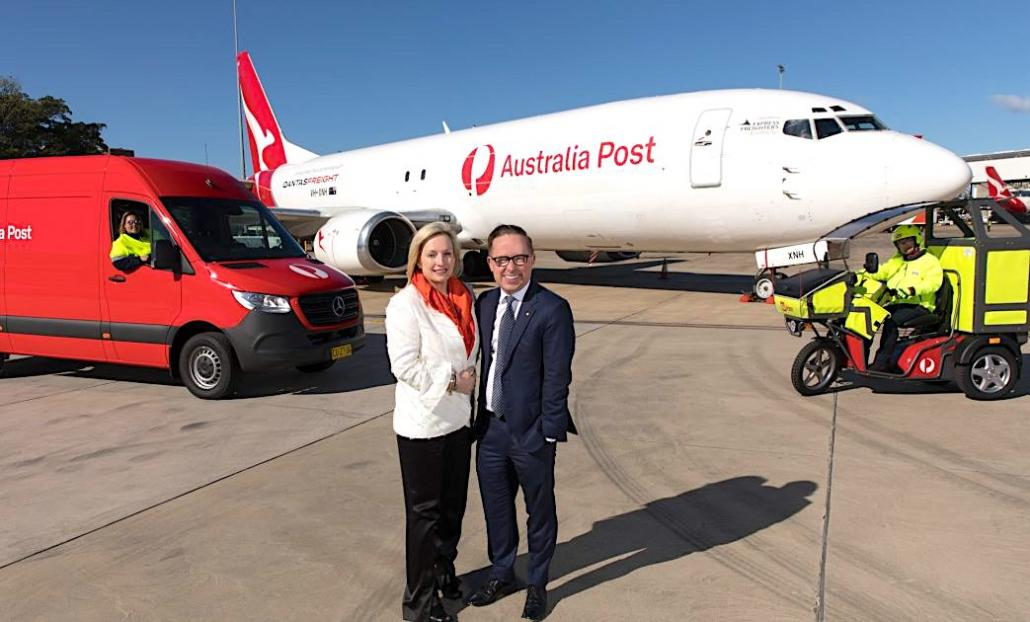 Australia Post, Qantas Freight do e-commerce capacity deal