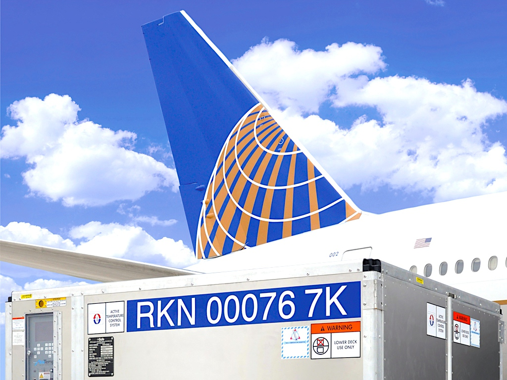 United launches TempControl service to MEX
