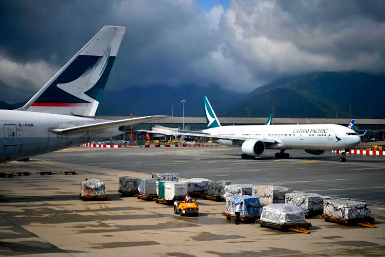 Cathay between a rock and a hard place over HK protests
