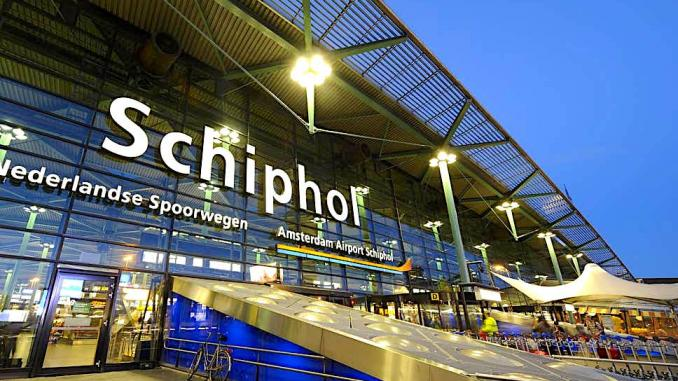Amsterdam Airport Schiphol AMS