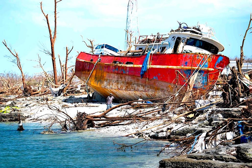 DSV, Danish Red Cross cooperate on Bahamas relief