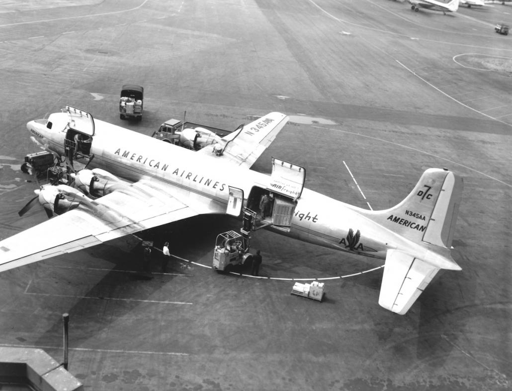 American Airlines marks 75 years since first cargo flight