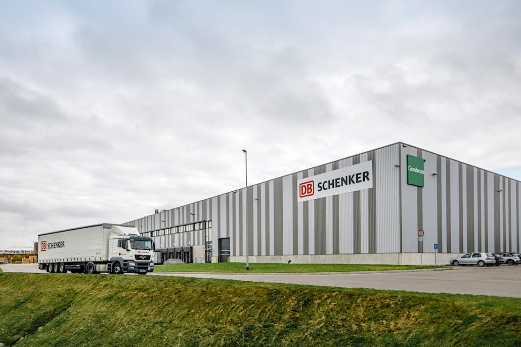 DB Schenker opens new German logistics hub