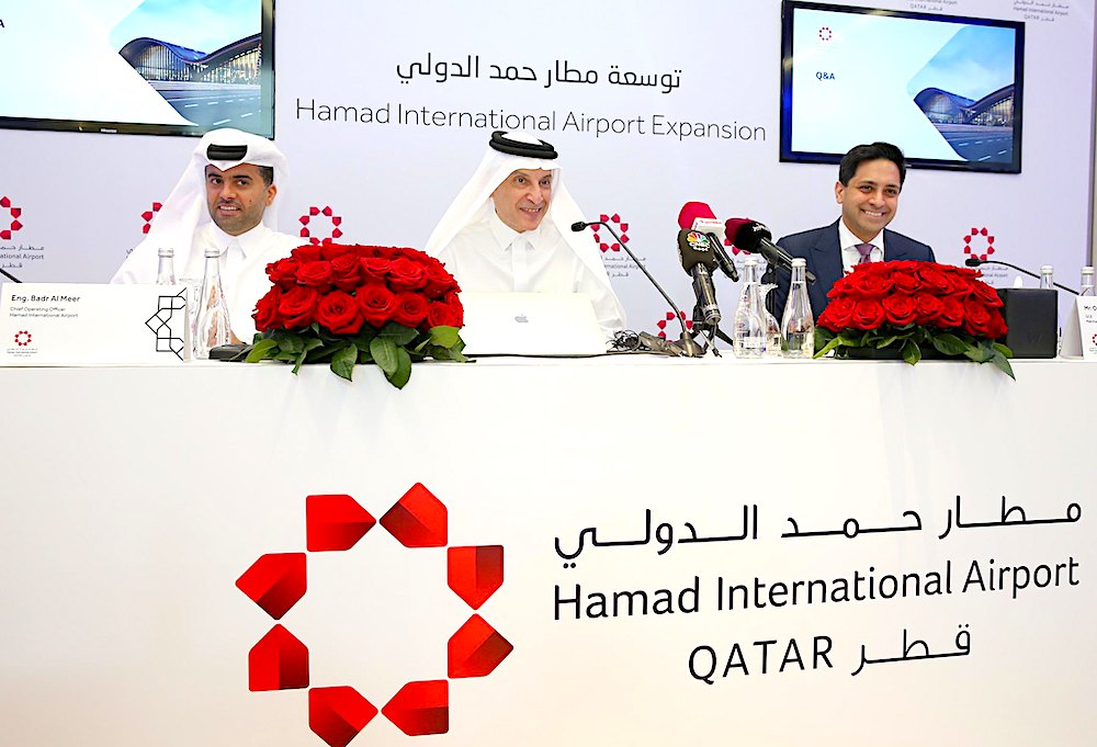 Hamad International's expansion plans include cargo