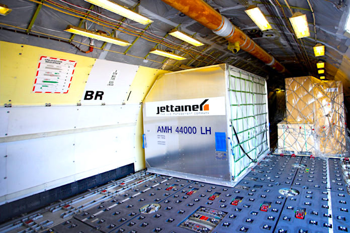 Jettainer manages ULDs for ASL Airlines Belgium