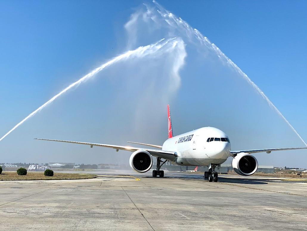 Turkish Cargo adds sixth B777F freighter