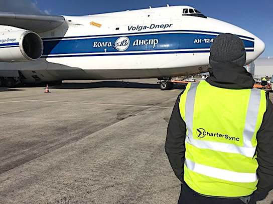 CharterSync scores early success with Volga-Dnepr's AN-124