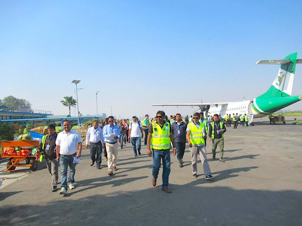 DHL, UNDP takes GARD to Nepal's local airports