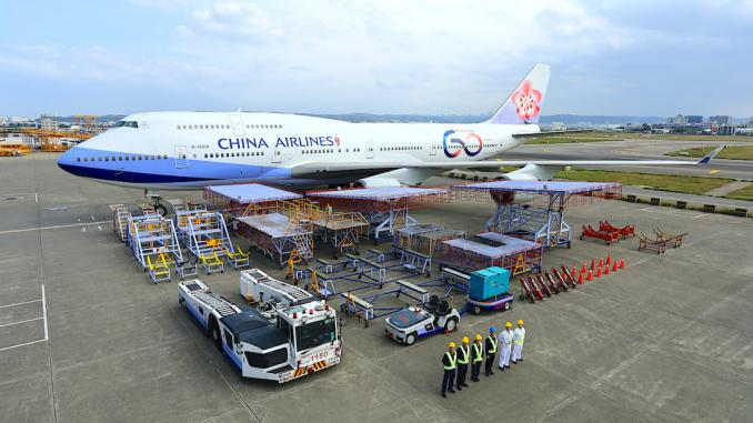 China Airlines 60th