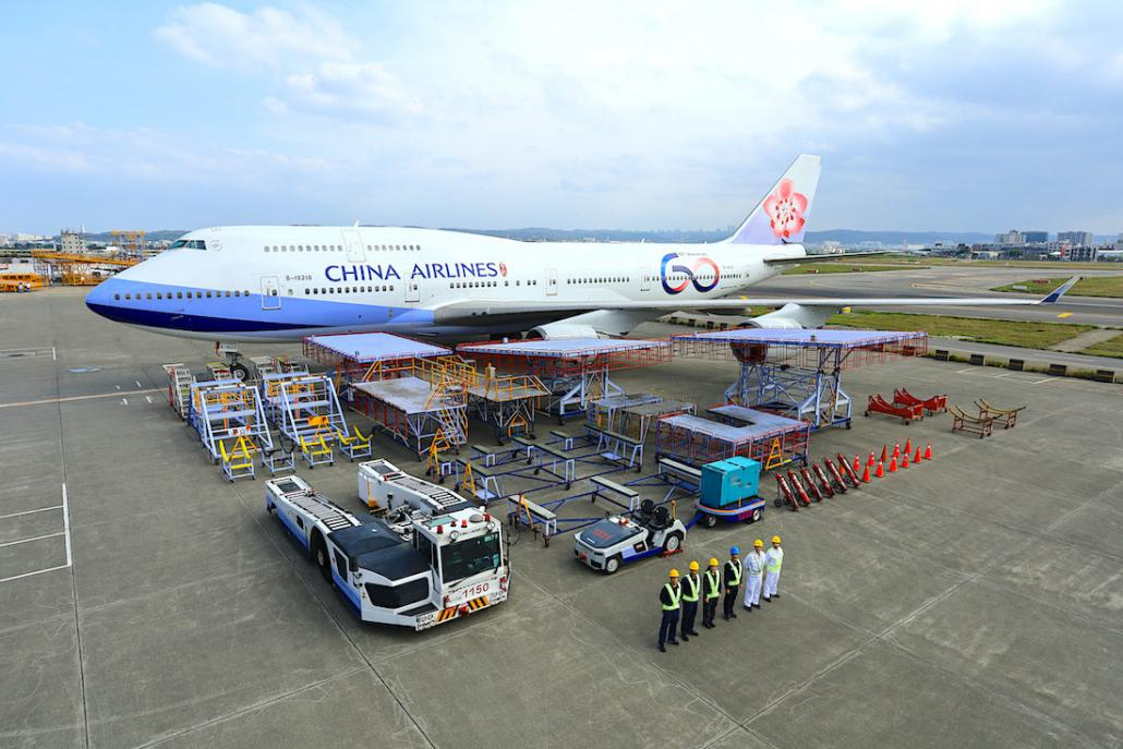China Airlines rolls out final aircraft with 60th livery