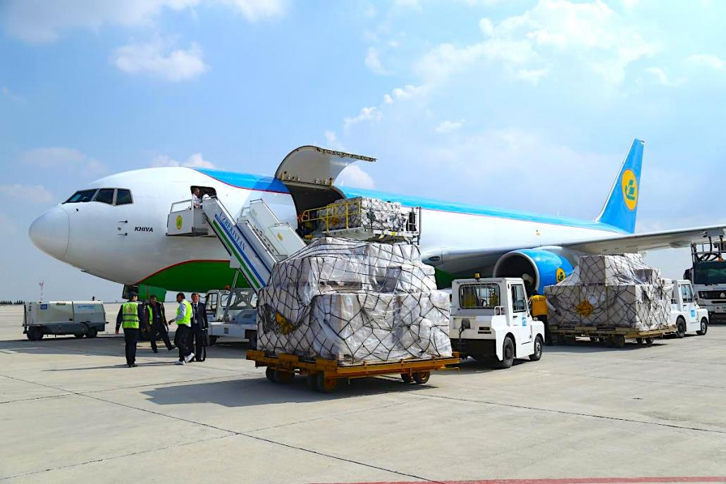 Uzbekistan Airways signs up for CHAMP's FREIGHT.AERO
