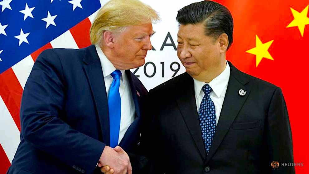 A trade war truce twinkles in the dark