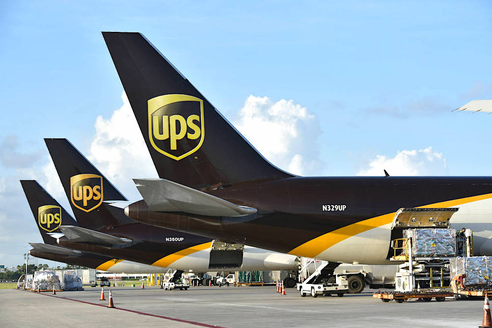 UPS posts healthy results thanks partly to Amazon
