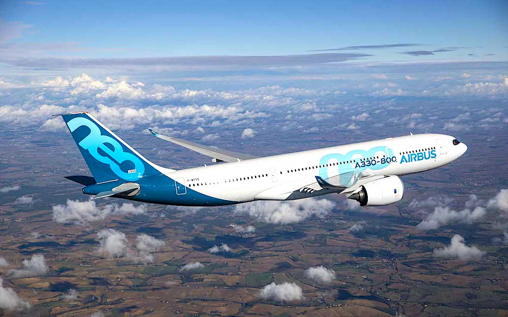 A330-800 receives EASA, FAA Type Certification