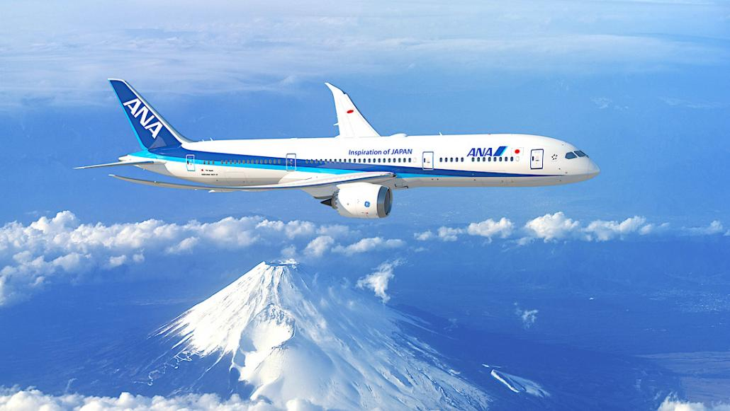 All Nippon Airways orders another 20 B787 Dreamliners