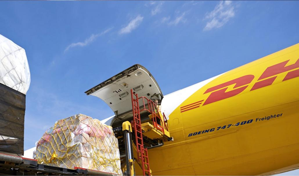 DHL Express receives first of six B777F due this year