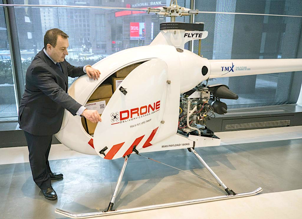 Drone Delivery Canada set to begin commercial testing