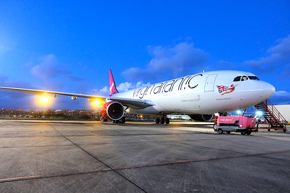 Virgin Cargo ups its India focus with new MAN-DEL service