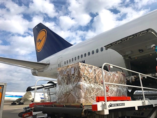 Lufthansa, ANA fly animal relief goods to Australia