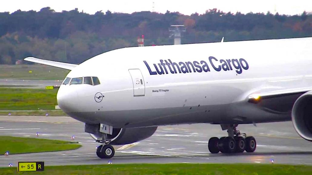 Lufthansa continues pared-down freighter services to China