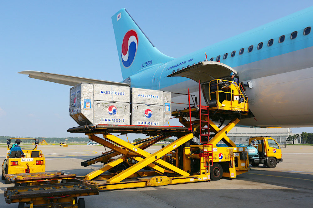 Korean Air now using pax aircraft for cargo only on SGN, TAO routes