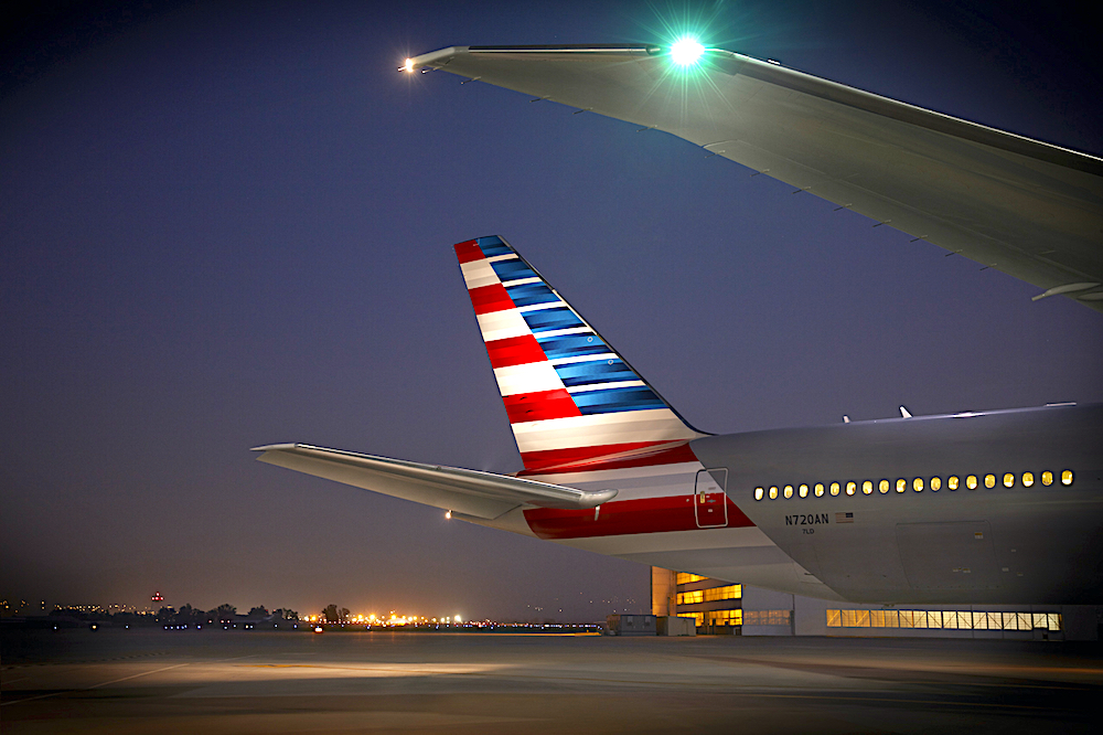 American runs grounded pax aircraft as cargo only service