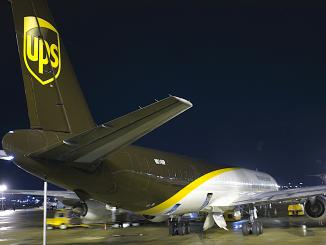UPS freighter