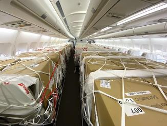 cargo on seats swiss
