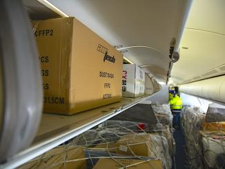 freight onboard pax aircraft