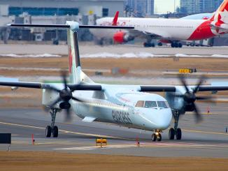 air canada express Dash8