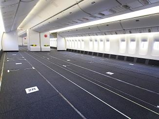 air canada reconfigured cabins