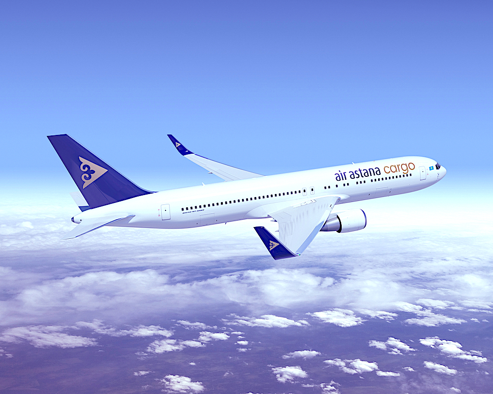 Air Astana launching cargo division with cargo-only B767s